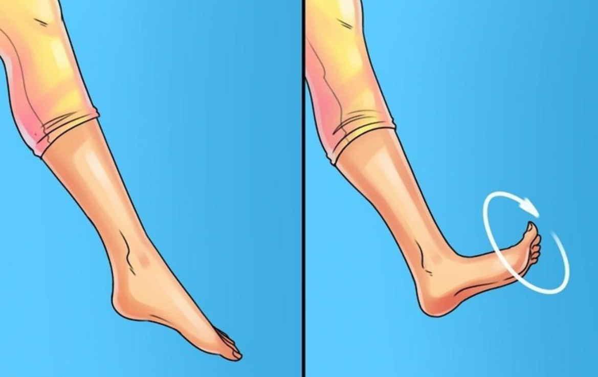 48 вращений стопами — и я забыл о боли в коленных суставах