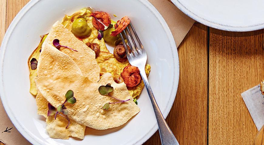 Индийский завтрак New Delhi