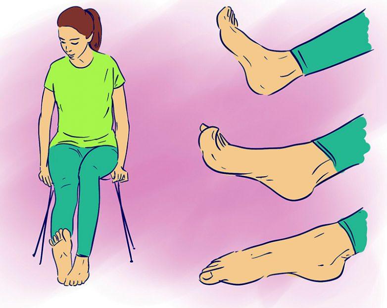 Как снять отечность ног, сделать их красивыми и сильными