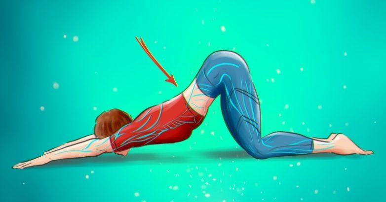 Упражнения для расслабления мышц спины
