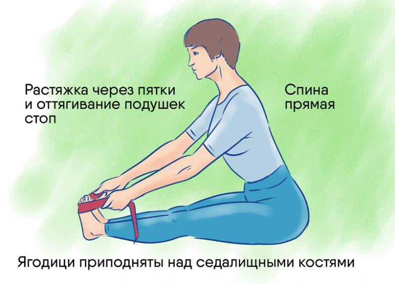 Как делать правильно наклоны