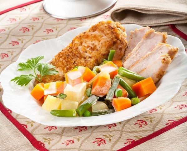 Овощи со сливочным соусом: рецепт очень вкусного гарнира