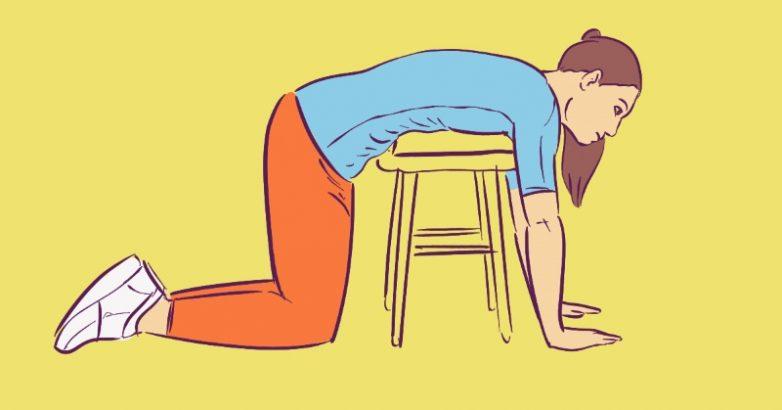 Упражнения на растяжку позвоночника