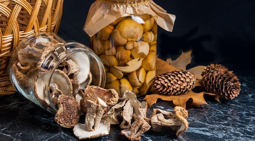 Нашествие белых грибов: сушим, солим, маринуем, готовим домашнюю лапшу и жюльен