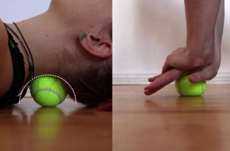 Как использовать теннисный мяч для спины, шеи, коленей
