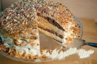 Самый любимый тортик из детства.