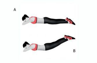 6 упражнений для ног и ягодиц