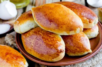 Пирожки из готового дрожжевого теста с разными начинками для самых голодных и привередливых