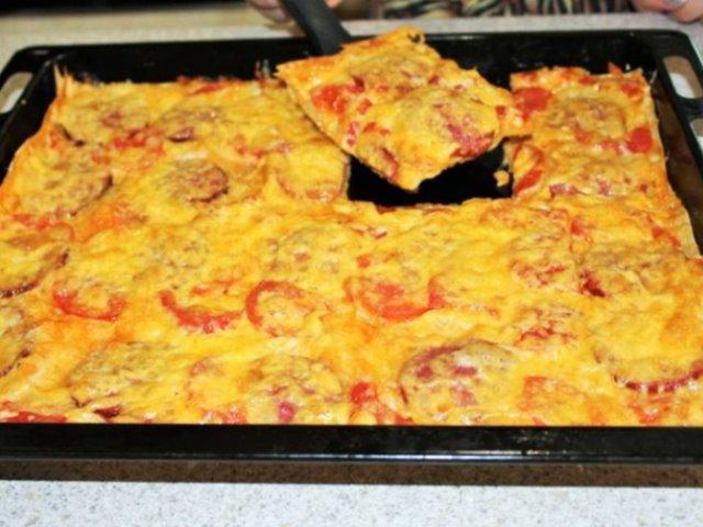 Гости будут в восторге — быстрая пицца и никакой возни с тестом.