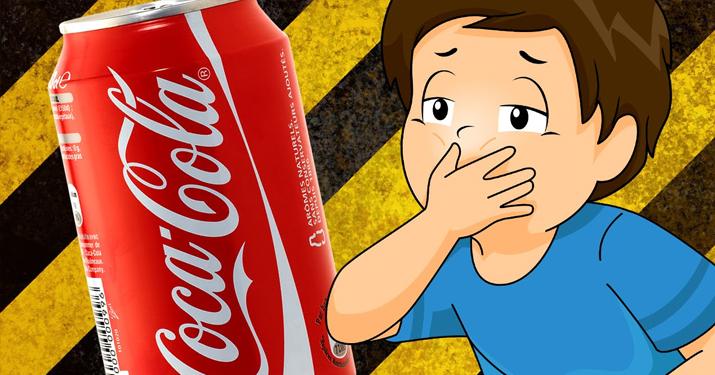 Что происходит через час после употребления банки кока-колы