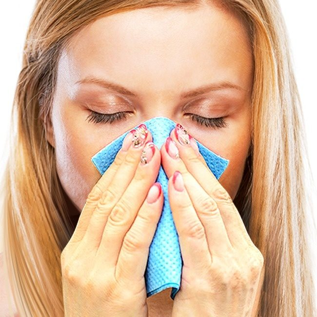 Как быстро избавиться от заложенности носа