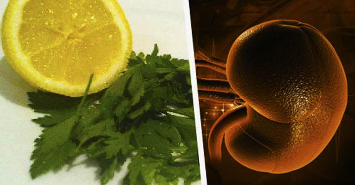 Домашний сироп с лимоном и петрушкой от камней в почках