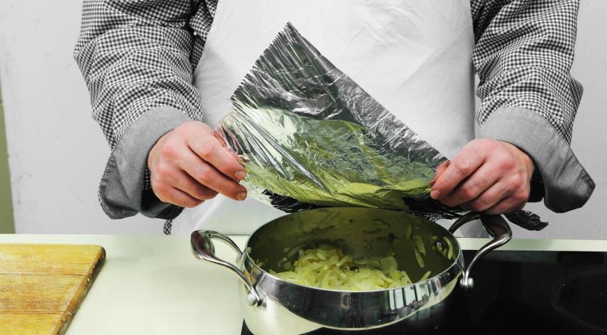 Постный луковый суп