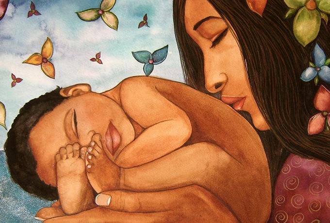 Мама лечит словом или заговор мамы на счастье и успех