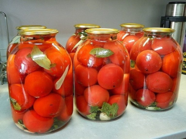Помидоры по этому рецепту получаются просто великолепными! Самые вкусные помидоры «Царские».