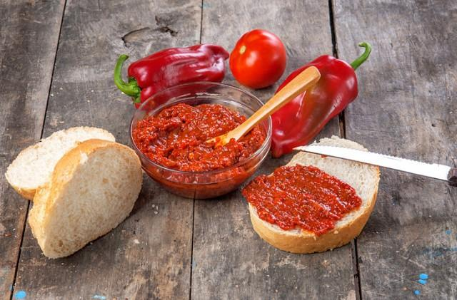Вкуснейший айвар из болгарского перца