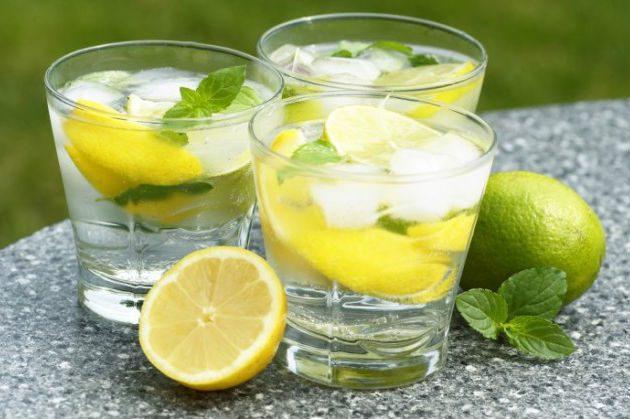 Освежающий напиток для очищения и похудения