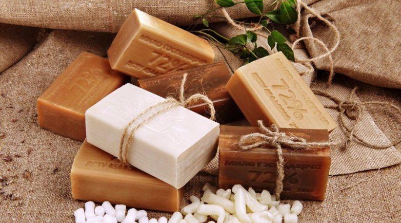 Применение хозяйственного мыла в быту
