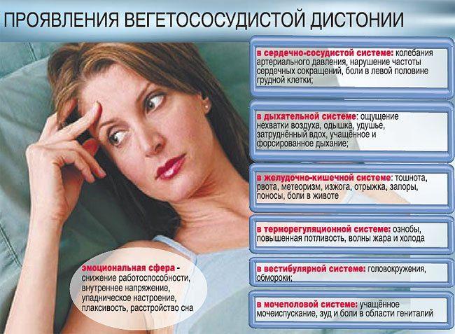 Народные рецепты при вегетососудистой дистонии
