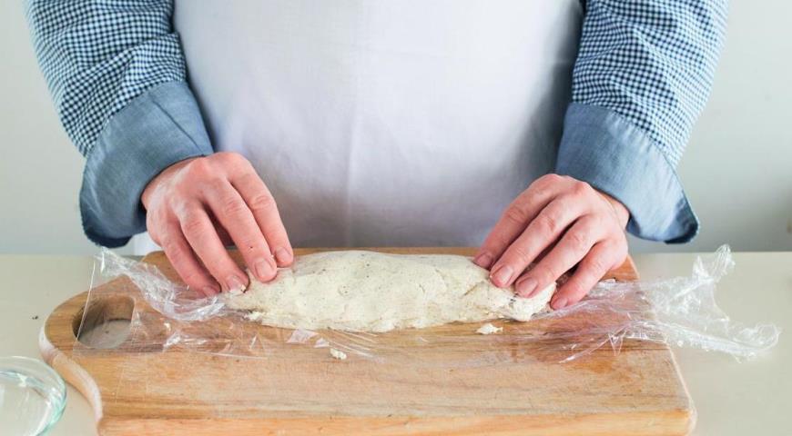 Свиная вырезка сореховым маслом