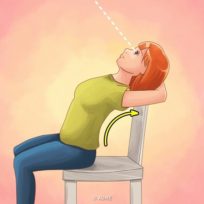 Простые упражнения для ровной спины