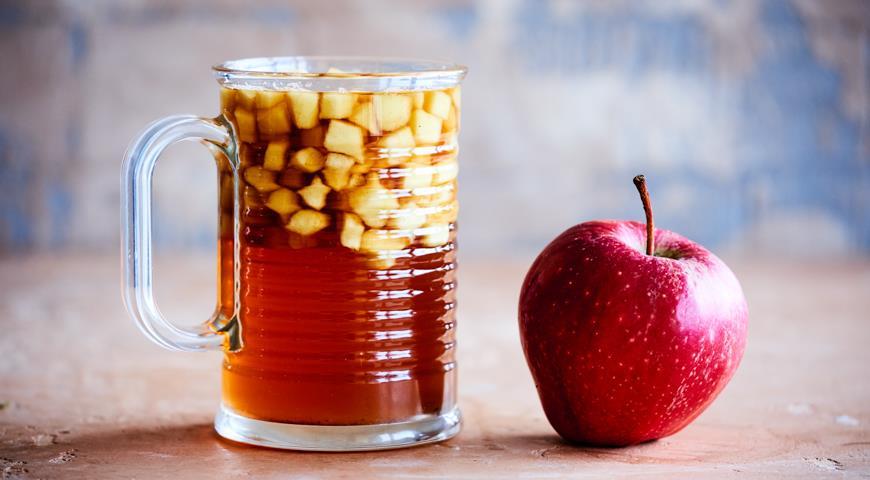 Яблочный чай для детского пикника