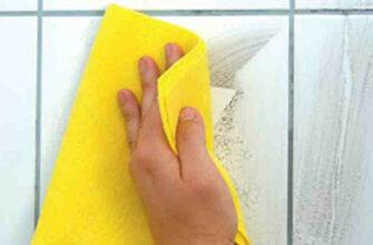 Лучшее натуральное средство для чистки плитки в ванной