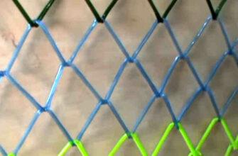 Как сделать сетку-рабицу из пластиковой бутылки. Дешево и нарядно!