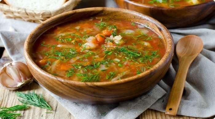 Полезные блюда русской кухни