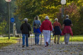 Скандинавская ходьба – пешком к стройности